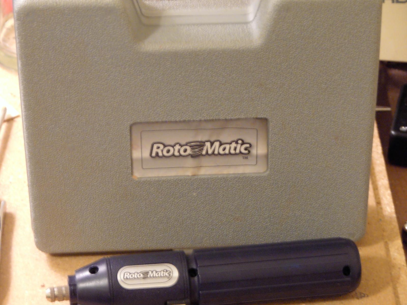 "Refurb a dead ""Roto-Matic"""