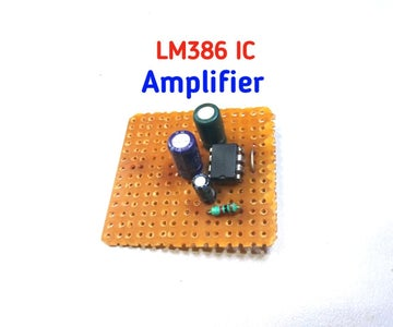 LM386 IC Amplifier
