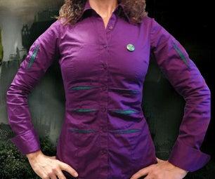 Sew Heroic!  Hulky Shirt Project