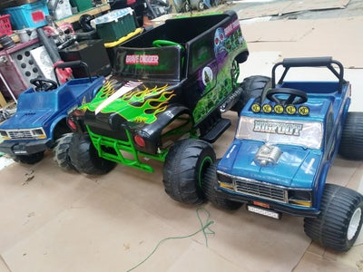 Battery Upgrade for 24v Grave Digger Power Wheels