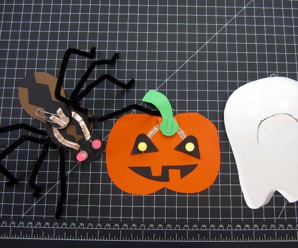 Halloween LED Paper Crafts