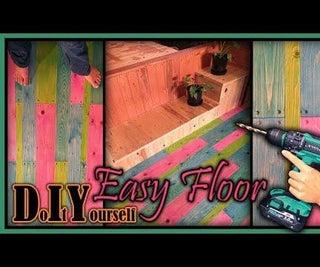 DIY Pallet Wood Floor (+video)