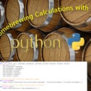 Homebrewing Calculations Using Python!