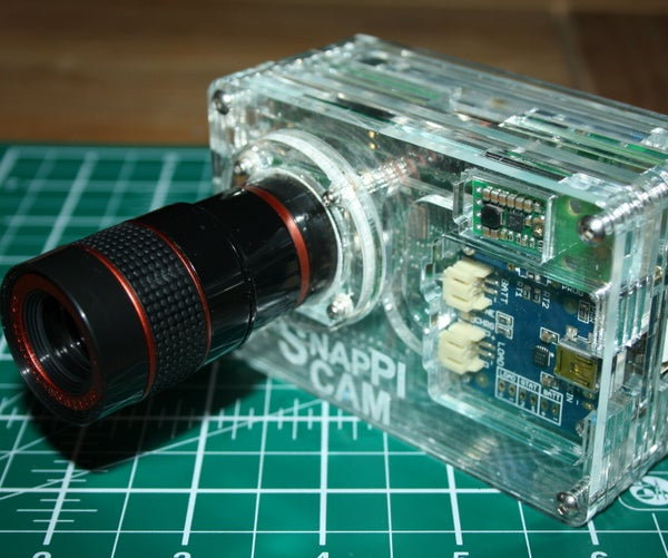 The SnapPiCam | a Raspberry Pi Camera