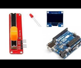 Control LED Blinking With a Potentiometer and OLED Display