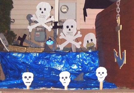 Oh No!  Sharks! Skulls & Swords!