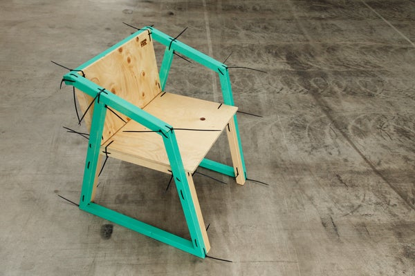 Familie Binder - Chair by Michael Holzer & Magdalena Reiter