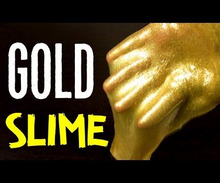 GOLD GLITTER SLIME