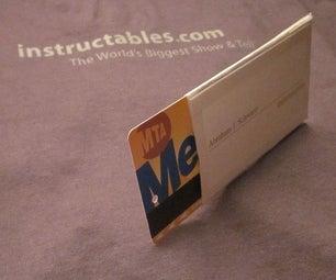 Business Card- Business Card Holder!