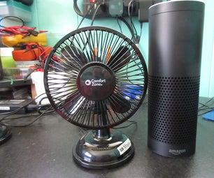 Amazon Alexa Enabled USB Fan