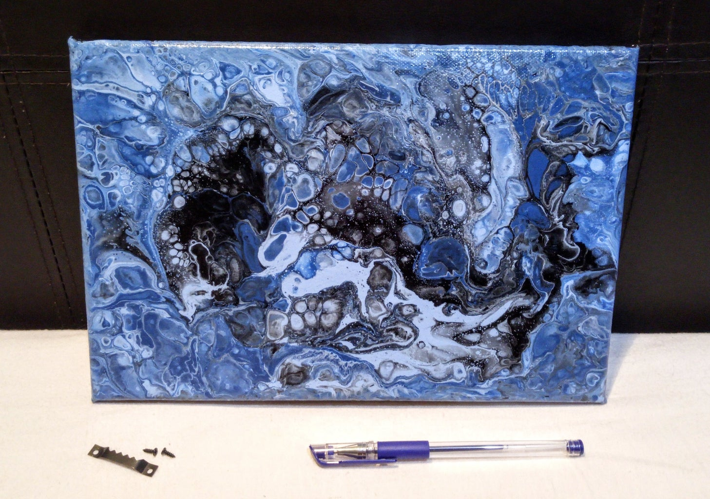Acrylic Pour Painting - on a Budget