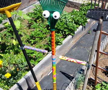 Water Hose Squiggler and Scarecrow