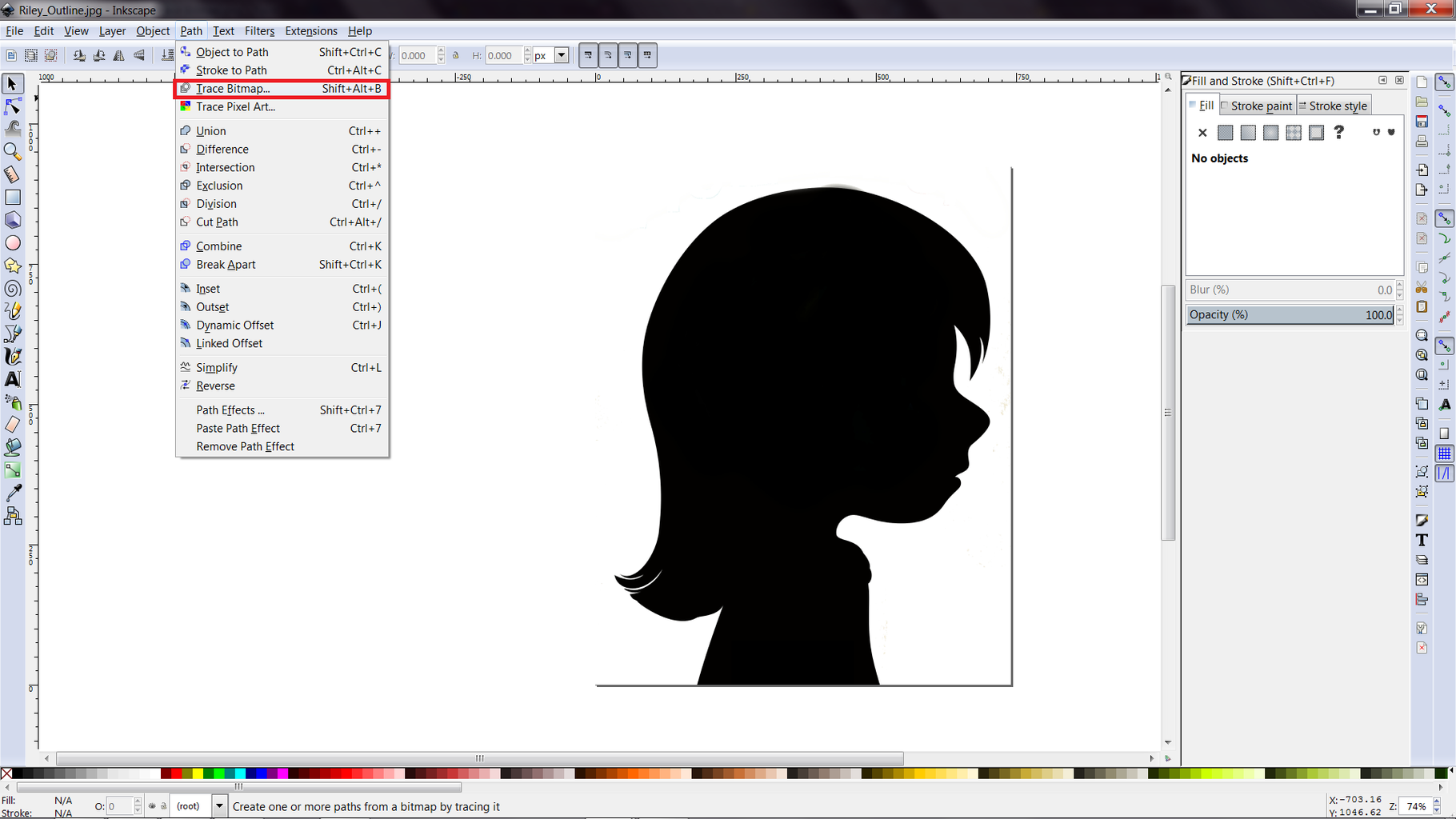Using Inkscape to Create a Decal