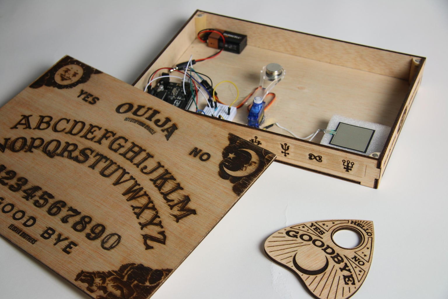 HOW TO BUILD THE OUIJA?