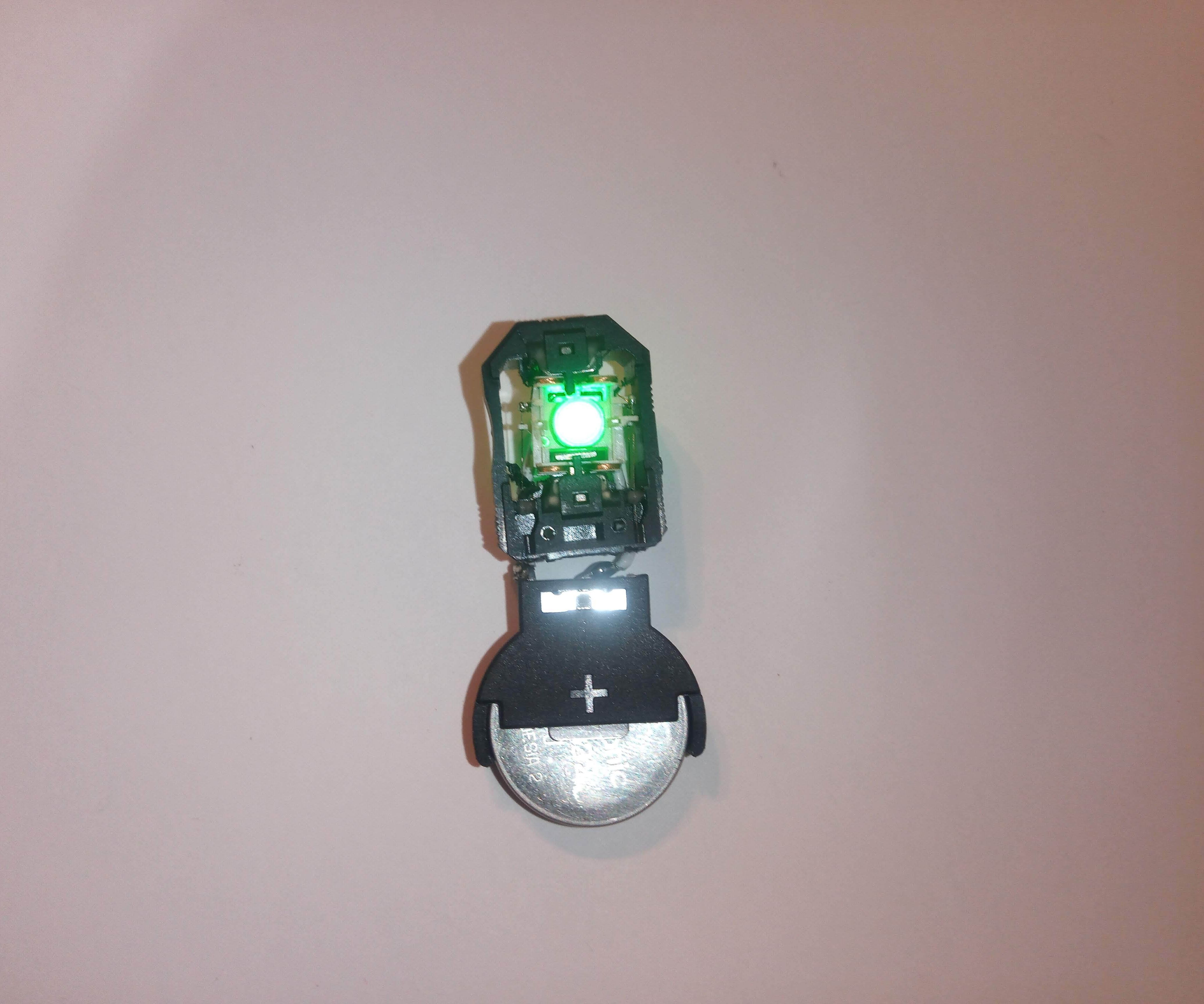 LED Pendant From an Old Optical Drive