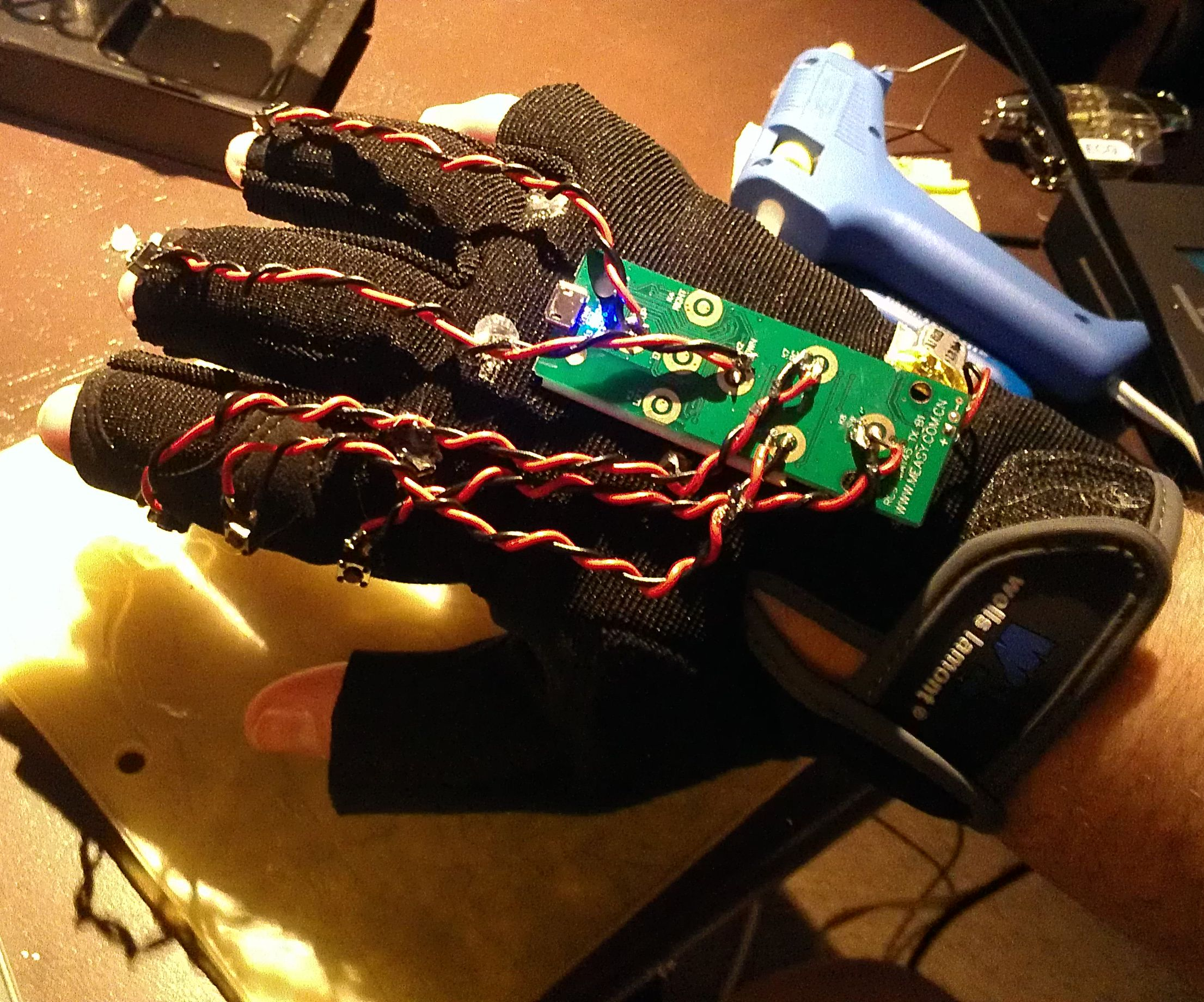 DIY Data Glove