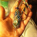 Macrame Interchangeable Stone Necklace