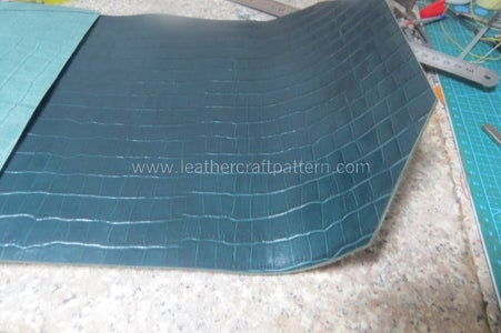 After Bending Glue, You Will See the Clutch Has a Nature Bending, Because Lining Is Shorter Than Surface.