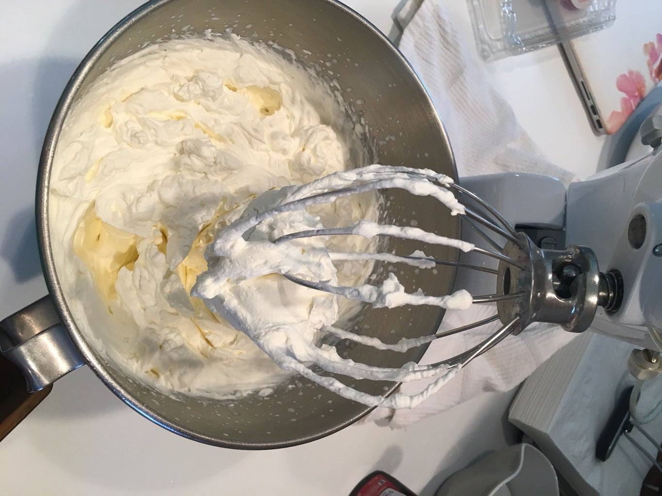 Making the Whipped Cream