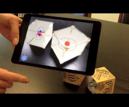 Create Your Own Augmented DAQRI 4D Element Cubes