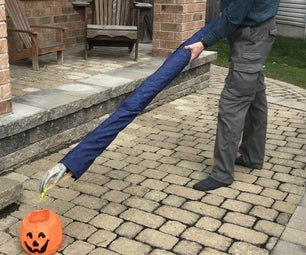 Social Distancing Zombie Hand Halloween Candy Dropper