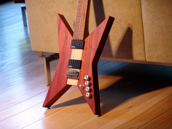 Scratch Built Electric Guitar