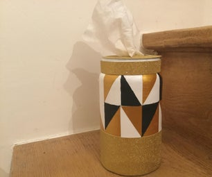 Mason Jar Tissues Holder