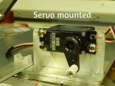 Control Unit & Servo Mounting