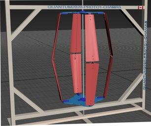 QUANTUM2020 VAWT, Vertical AXIS Wind Turbine
