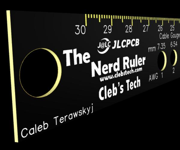 DIY PCB Ruler