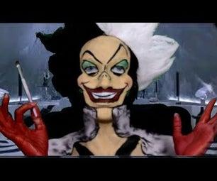 Wicked Cruella De Vil Make-up