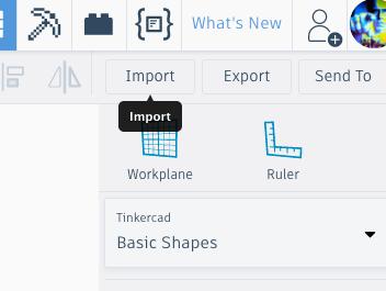 Import - Extrude - Export