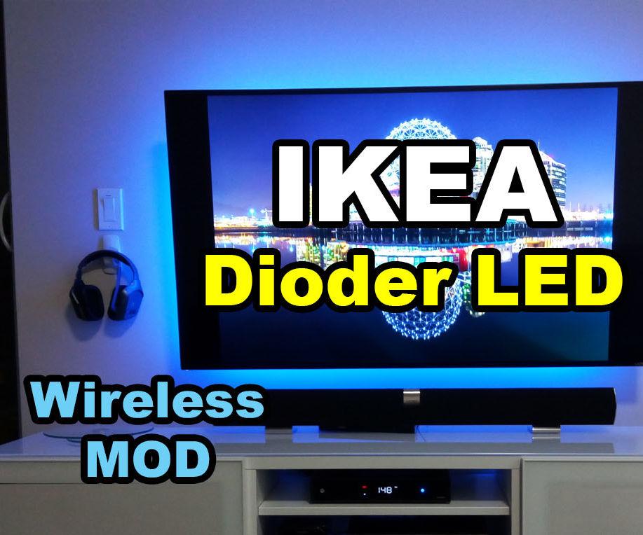 IKEA Dioder LED Strip Wireless Mod