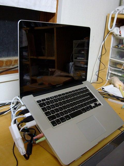 Makedo Laptop Stand