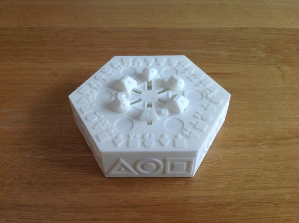 3D Printed 'Centrifugal Puzzle Box' - Solved With a Spin...