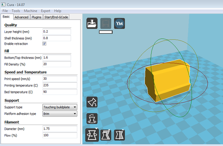 Method 1 Step 1: Print Items [3D Printer Tools Rack]
