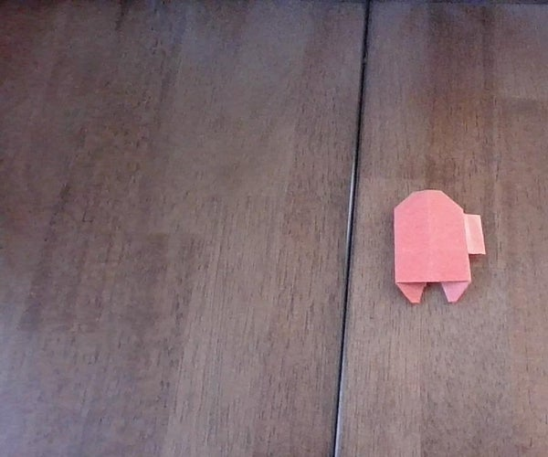 Origami Among Us Character (With Backpack)