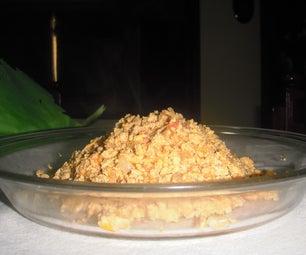 How to make scrambled eggs w/ tomatoes & onions
