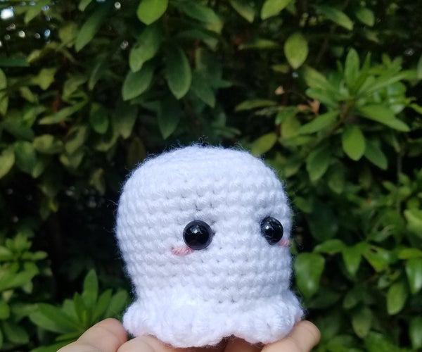 Easy Crochet Ghost Plush