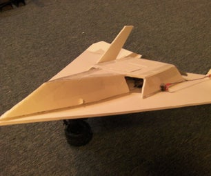 Scratch Built Delta Wing RC Plane