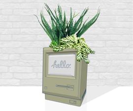3D Modeling a Vintage Computer Planter