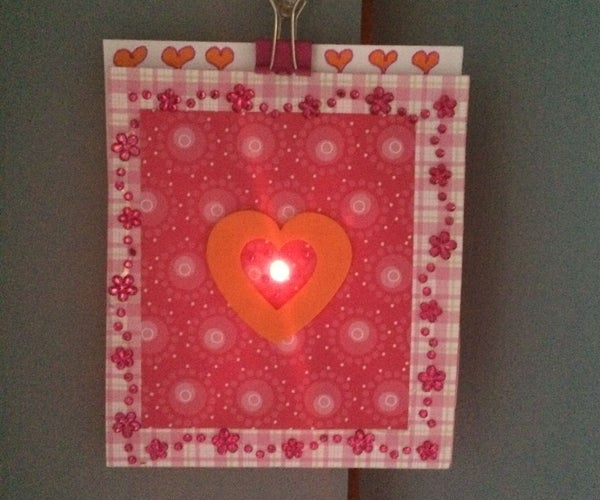How to Make an LED Valentine Card-