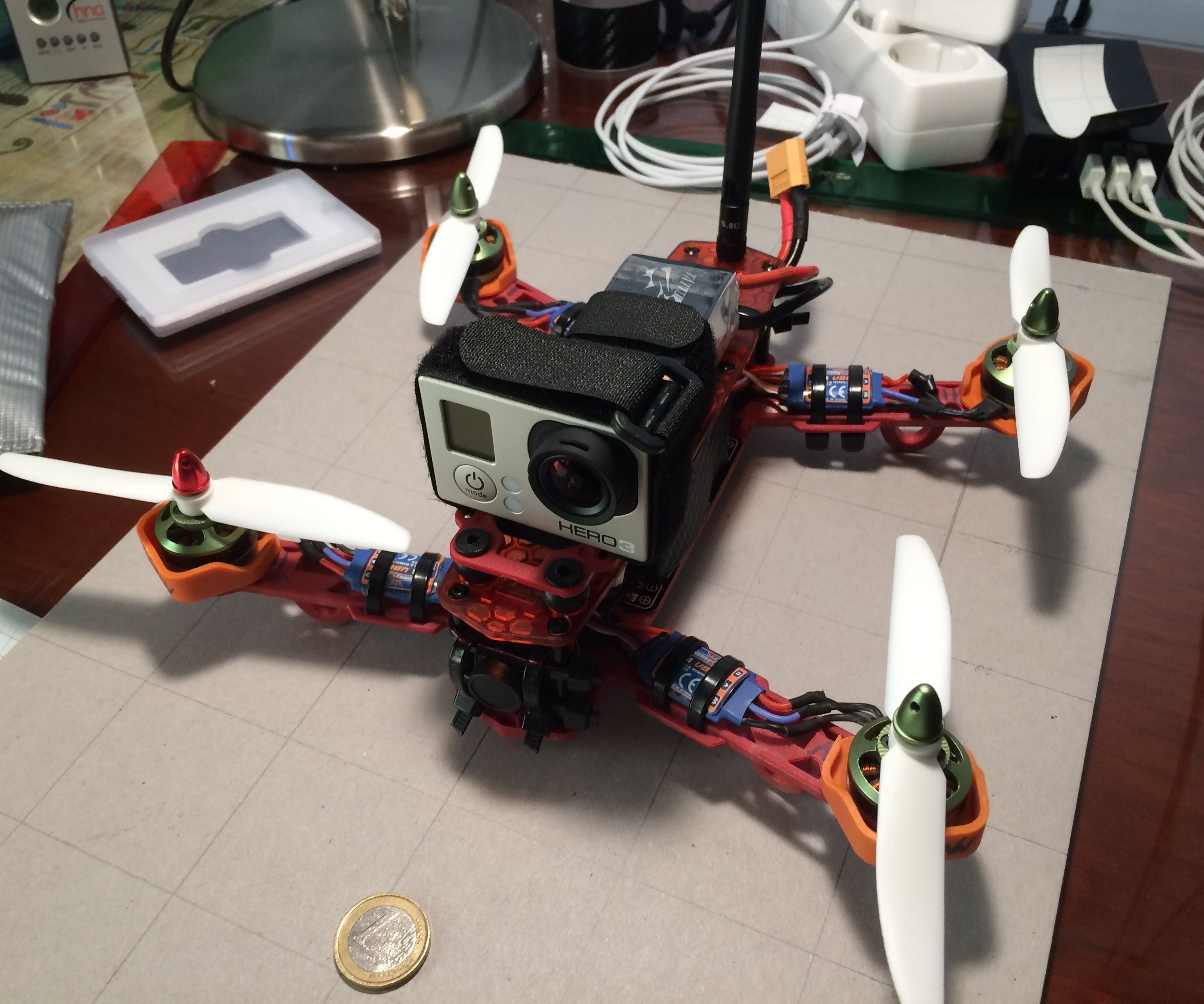 Easy to Built 250 Quadcopter Drone.