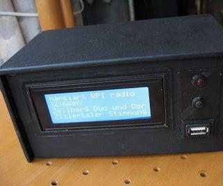 RASPBERRY ZERO INTERNET RADIO / MP3 PLAYER