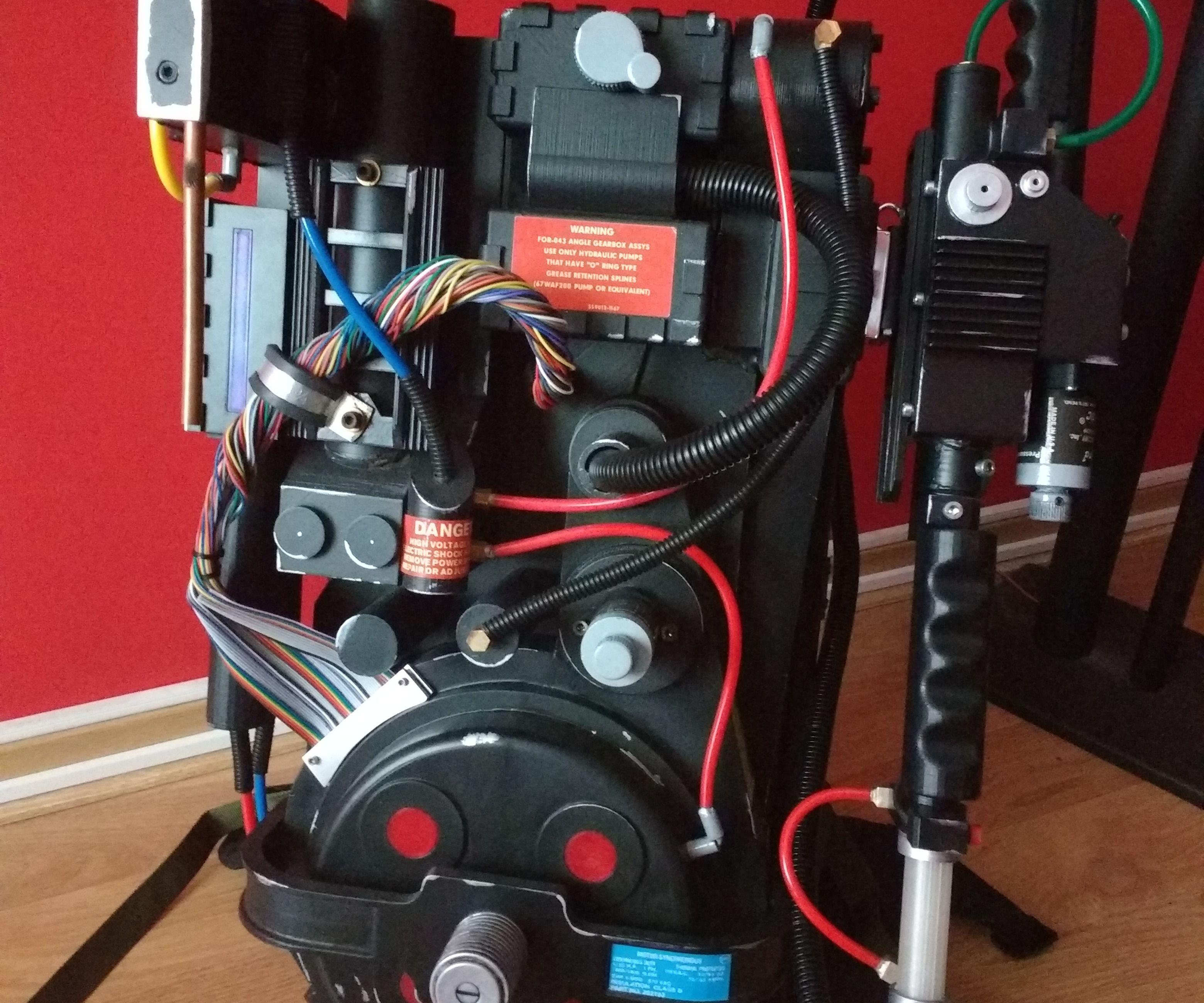 3D Printed Proton Pack