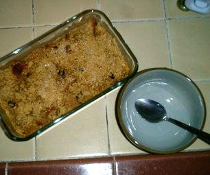 Experimental Bread Pudding