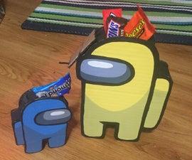 """Among Us Candy """"pinatas"""""""