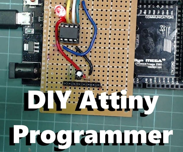 DIY Attiny Programming Shield