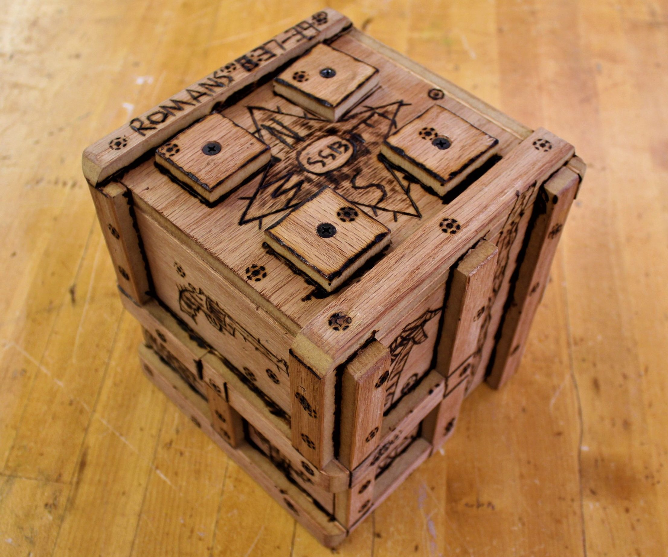 How to Make the Centrifugal Equation Box (That We Made for Mr. Puzzle!)