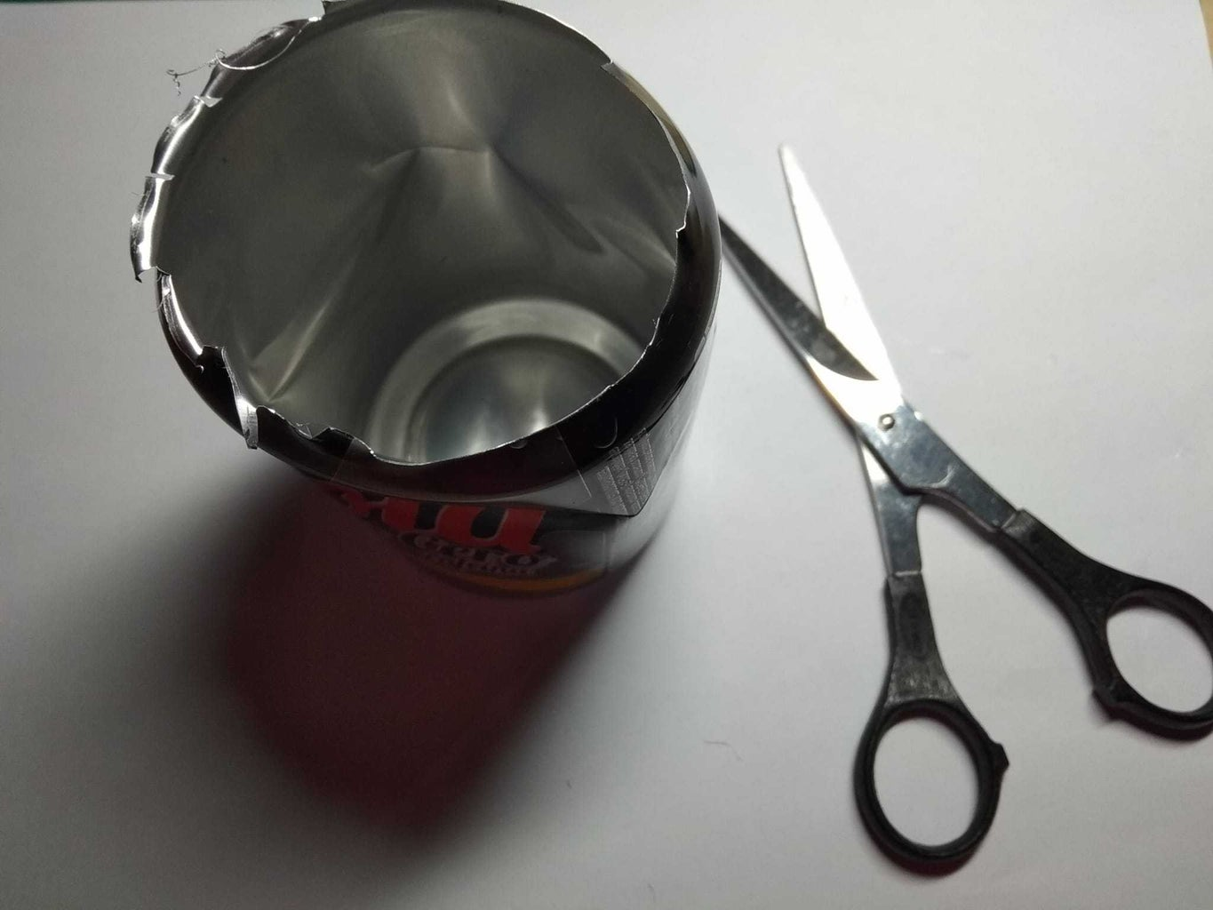 Step 1: Prepare the Can